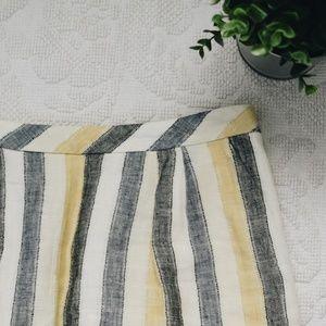 Anthropologie Edme & Esslyte Striped Skirt